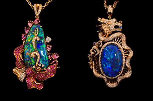 北京春季珠宝展,他们将携顶级欧泊和极具异域风情的设计作品璀璨亮相