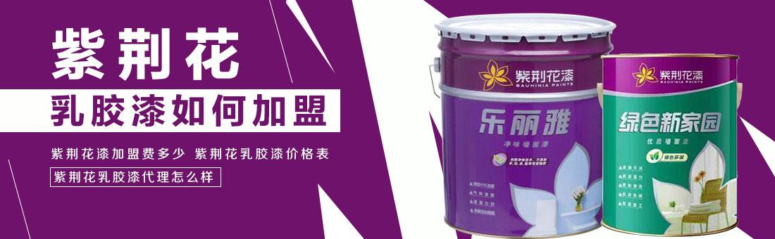 紫荆花乳胶漆如何加盟