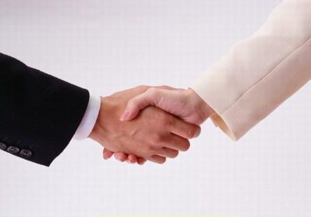 握手时伸手的先后次序