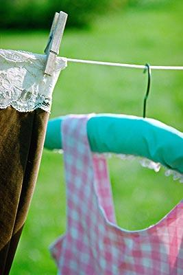 干洗衣物不掉色