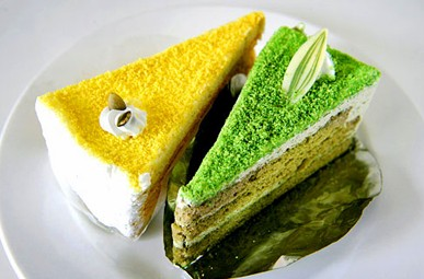 海绵杯子蛋糕成甜点主角