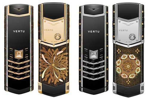 148万元的漆器艺术手机(图)