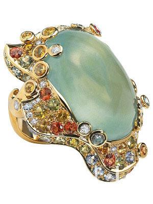 复古珠宝戒指 Dior珠宝戒指