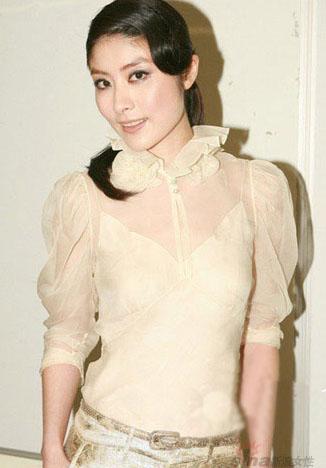 透明的小罩衫荷叶领泡泡袖表达着可爱的意义