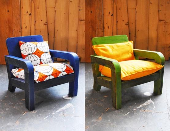 回收木材家具设计 倡导低碳概念生活