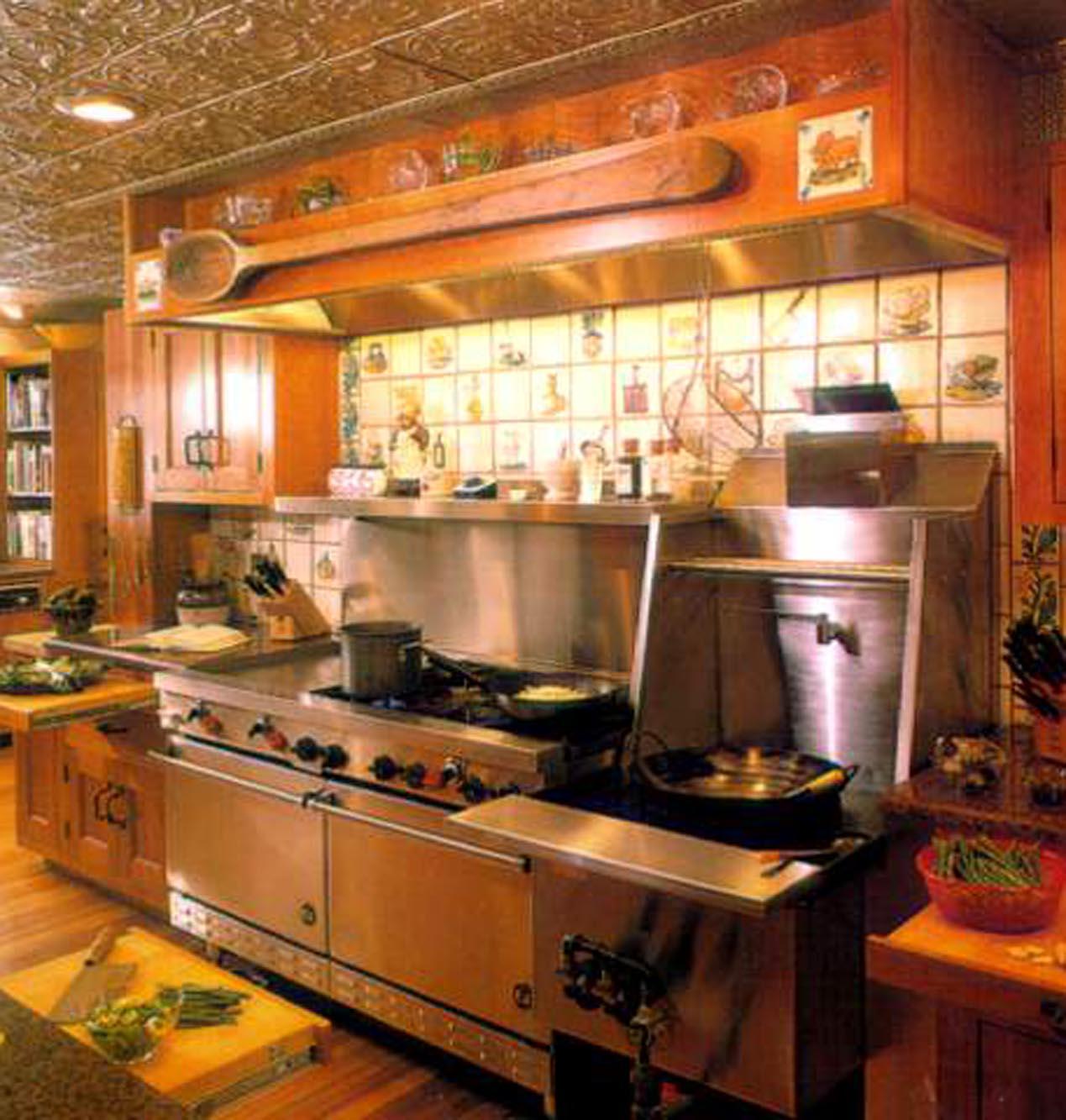 让厨房成为吸引餐馆顾客的焦点