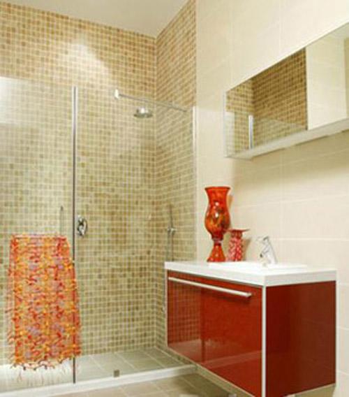 小户型卫浴设计之巧用角落的节省型设计