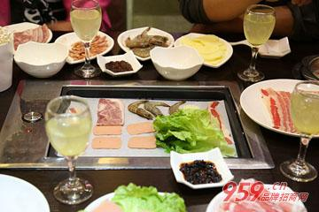 加盟尚品宫韩式烤肉 创富一路扬帆