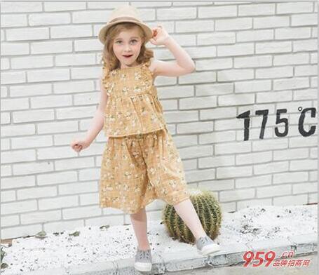 品牌童装加盟大宝小宝 为孩子们打造美好的童年