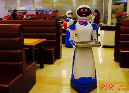崔师傅机器人面馆