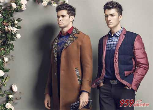 男装品牌项目