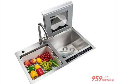 开什么加盟店比较好?康道水槽洗碗机带给你美好生活