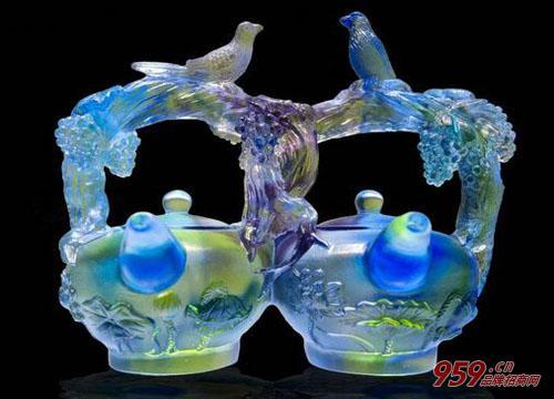 现在投资琉璃工艺品大概要多少钱?
