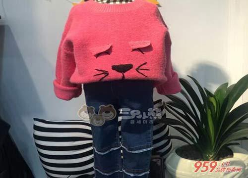 时尚童装代理品牌哪家好?三只小熊欧韩童装 给孩子最好的关爱