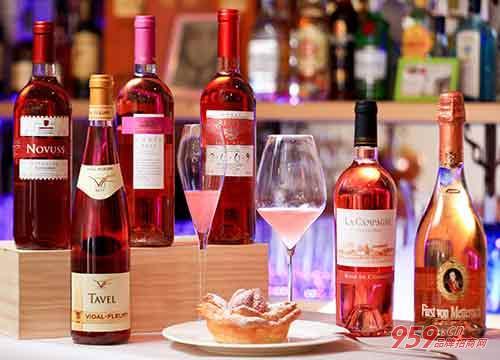 玫瑰红葡萄酒价格图片