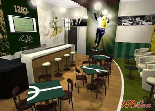 贝利咖啡加盟店