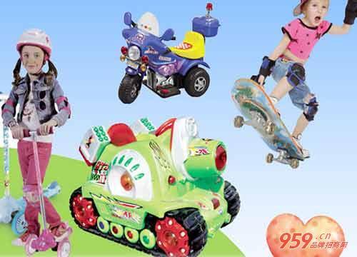 酷奇乐童车加盟店