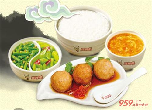 蒸膳美中式快餐加盟条件