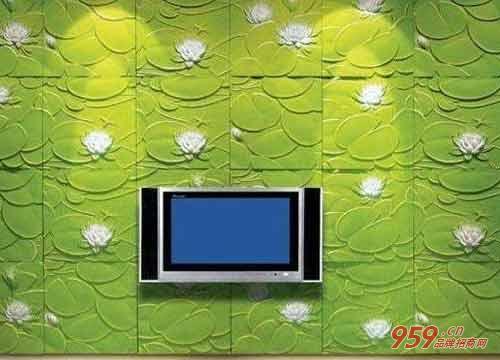 雅诗3D背景墙