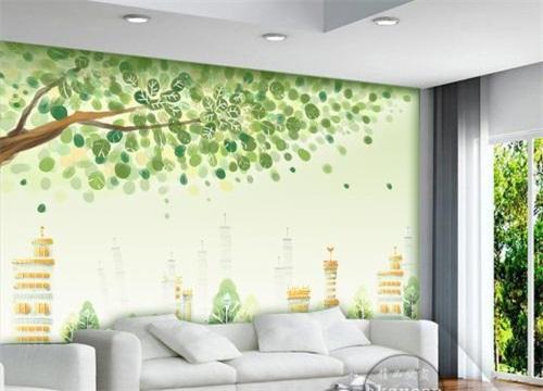 环保背景墙加盟
