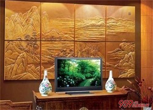 欧莱艺3D背景墙加盟
