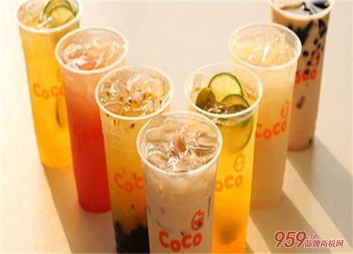 coco奶茶县级加盟