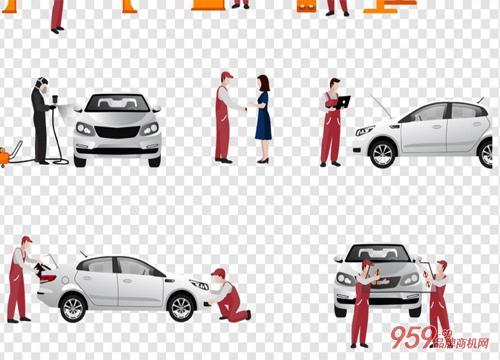 汽车服务业