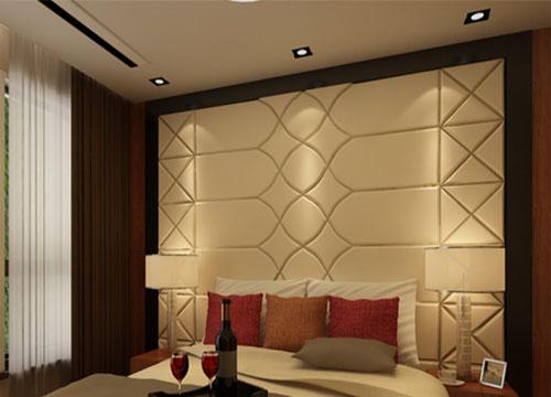 科沃斯3D背景墙