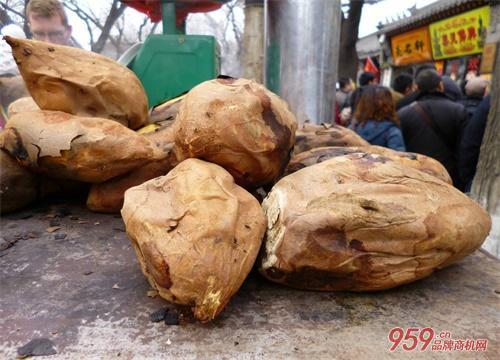 烤红薯生意