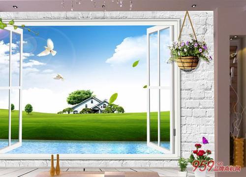 瑞泽3D背景墙