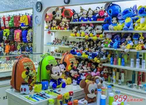 开玩具专卖店