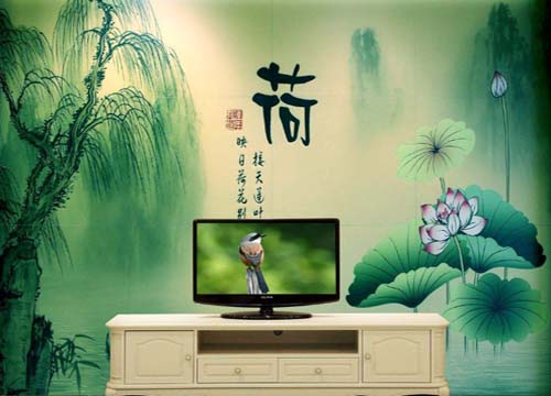 凯尔顿普斯电视背景墙
