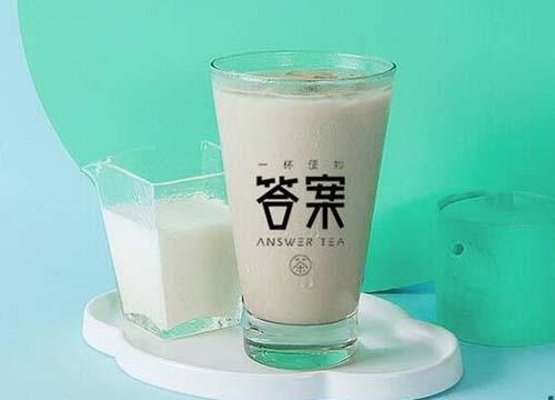 网红奶茶答案