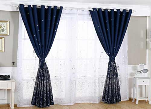 窗帘专卖店效果图