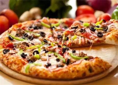 开香必客披萨店