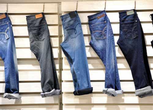 开牛仔裤店