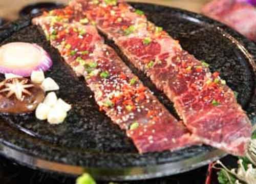 神火源石板烤肉