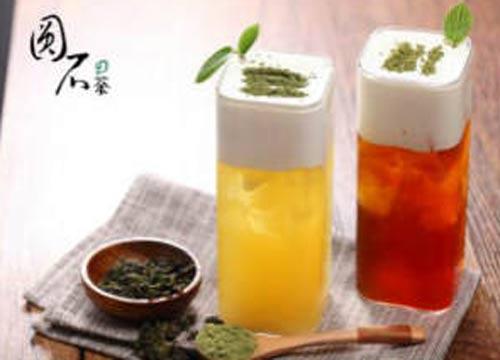 圆石の茶加盟