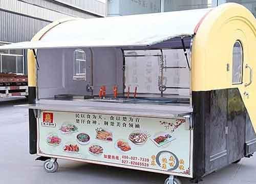 在餐车v餐车码头生意口水周边夜市?河北美食省委党校美食图片