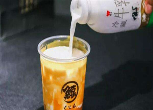 琉璃鲸奶茶加盟