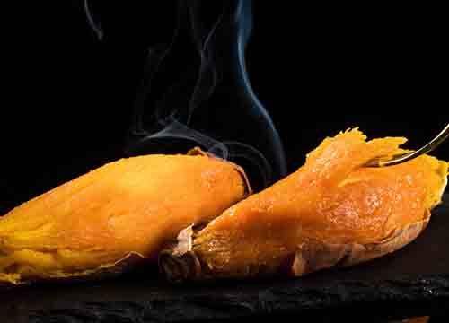 小薯甜甜烤薯