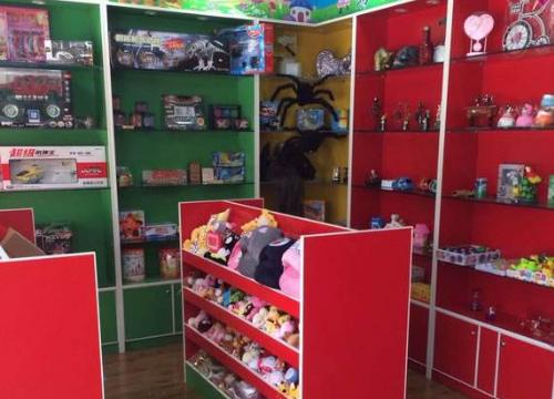 開稀奇古怪玩具店
