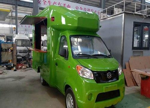 陆景店车流动餐车