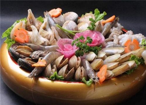 鲜火肴瓦罐酱焖小海鲜
