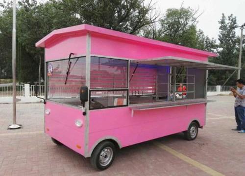 一路飘香美食餐车
