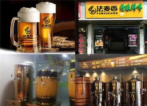 鲜啤美味人气高 不能错过的创业好项目