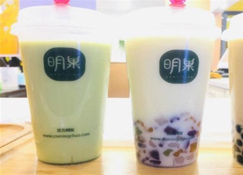 明巢茶饮店合作商投资让创业者赢在起跑线上
