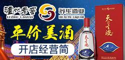 泸州老窖天之圣液 代理白酒 无店可盈