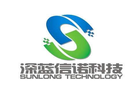 青岛深蓝中心logo