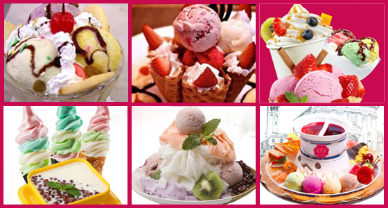 玫瑰皇后冰淇淋